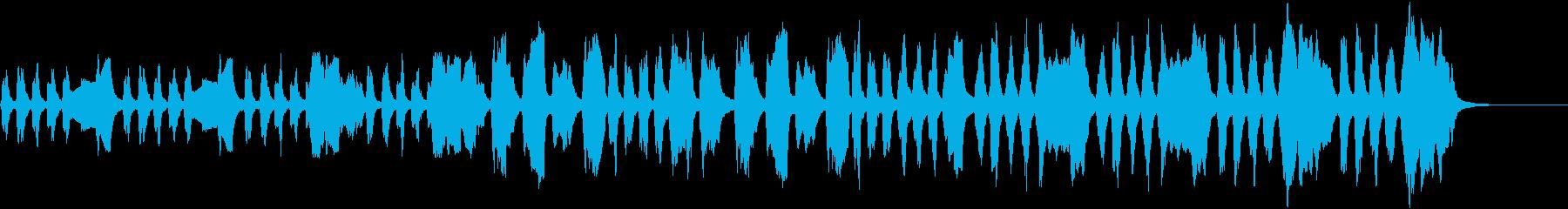 ほのぼのクラシック管楽器の再生済みの波形