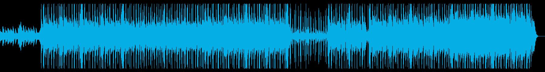 ダークなHip Hopなビートの曲の再生済みの波形