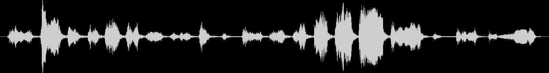 ジャーマンシェパード:うめき声と泣...の未再生の波形