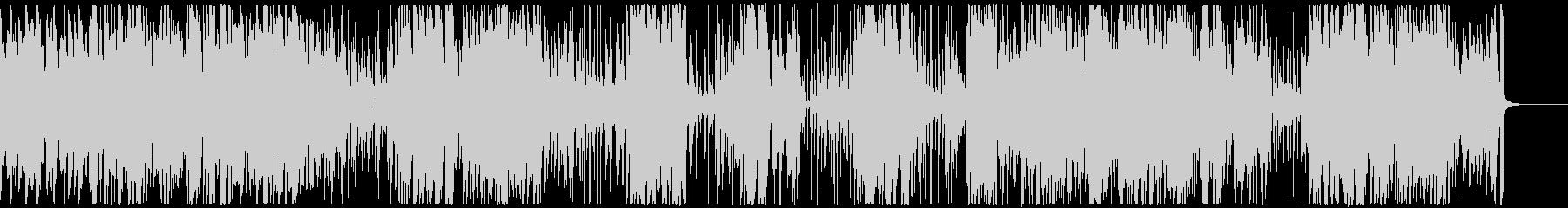 ビバップ・ジャズ/サックス伴奏の未再生の波形