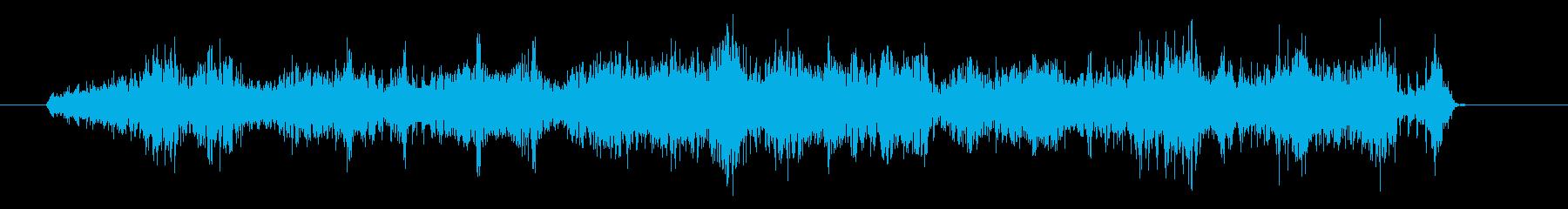 ビリビリビリ(電気攻撃・放電・雷の魔法)の再生済みの波形