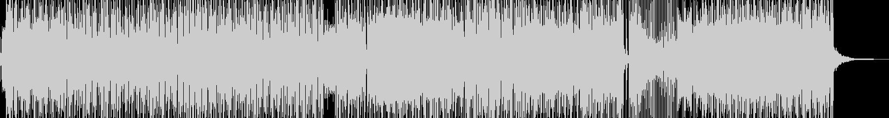 クールなギター・パーカッションロック ★の未再生の波形