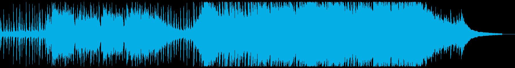 空の見えるバルコニーの再生済みの波形
