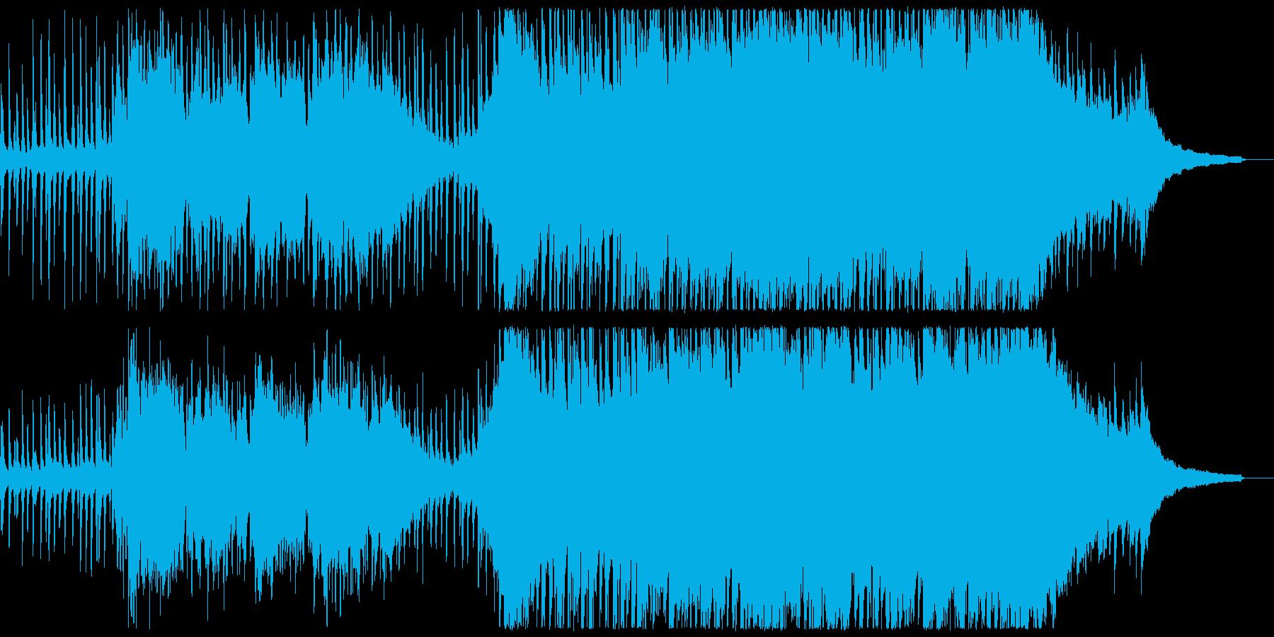 短く爽快なポップオーケストラの再生済みの波形
