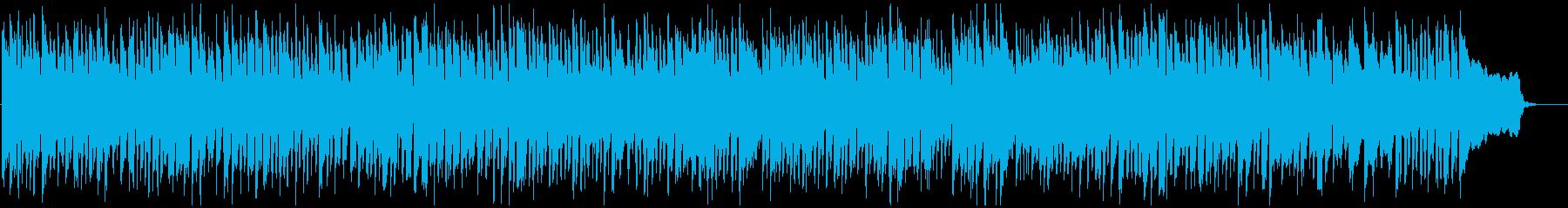 ウキウキと賑やか、陽気で元気なリコーダーの再生済みの波形