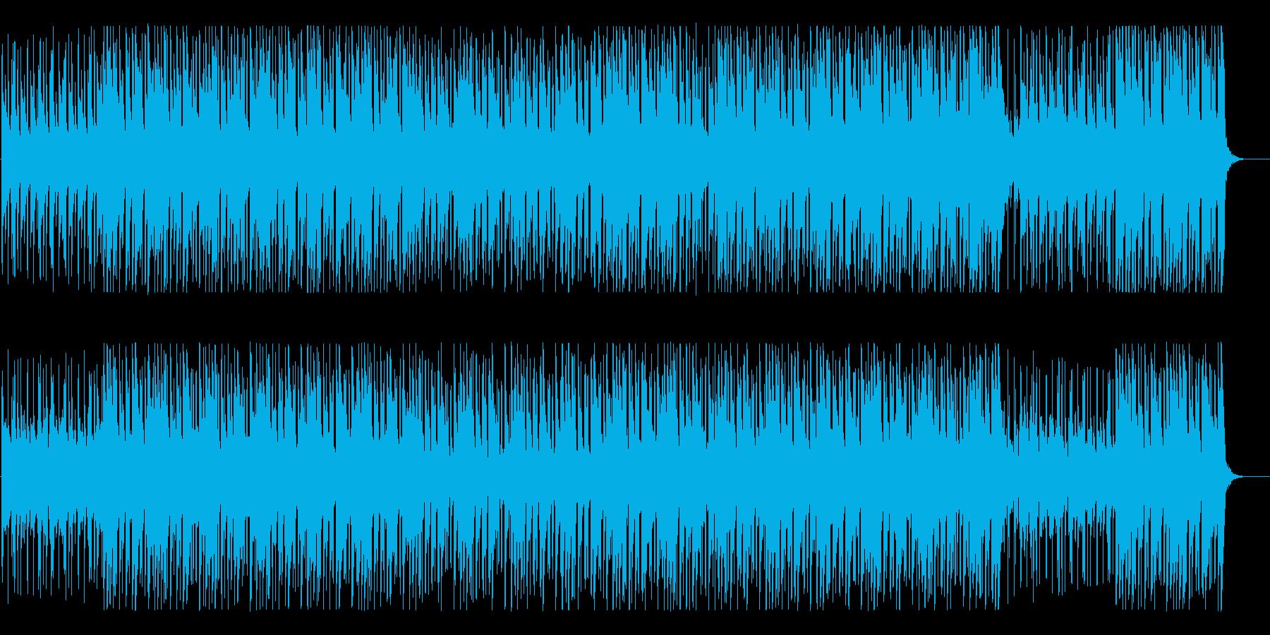どこか幻想的なゆったりとしたBGMの再生済みの波形
