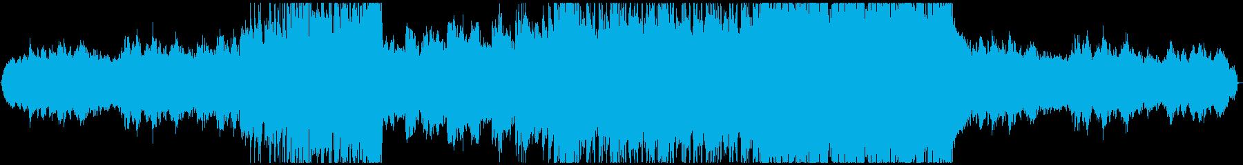 モダン テクノ アンビエント 励ま...の再生済みの波形
