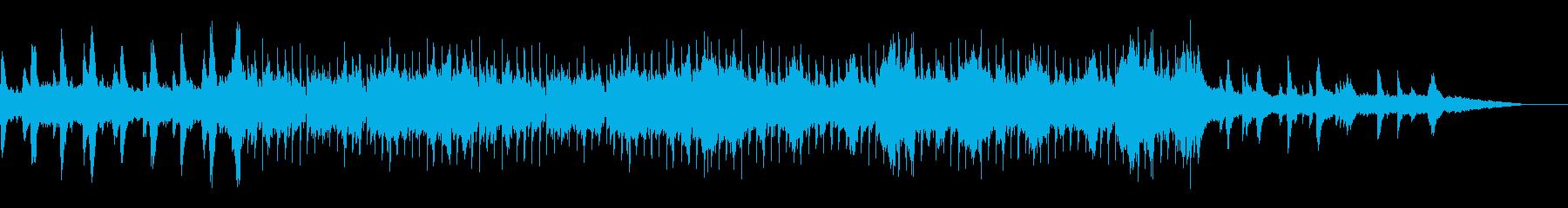爽やかで前向きなストリングスポップの再生済みの波形