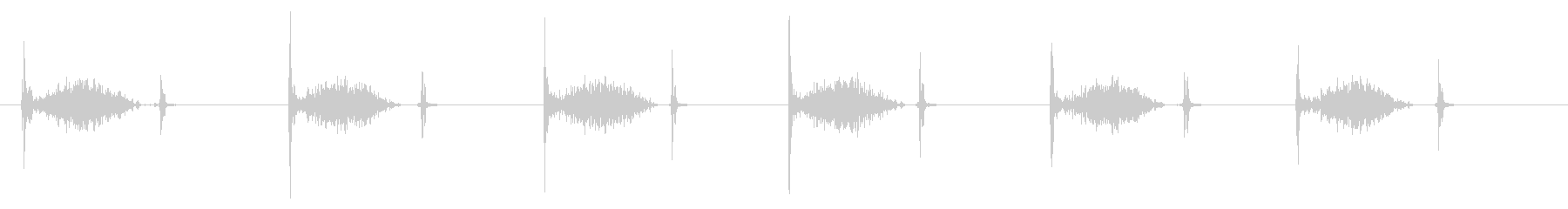 PC マウス ムーブ02-08(木)の未再生の波形