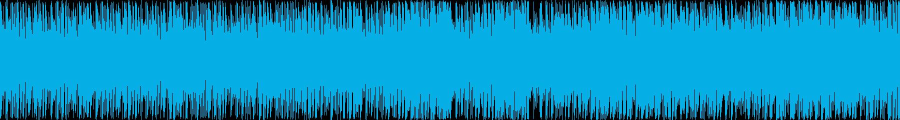 ぷよテトのようなパズルゲーム ループ演奏の再生済みの波形