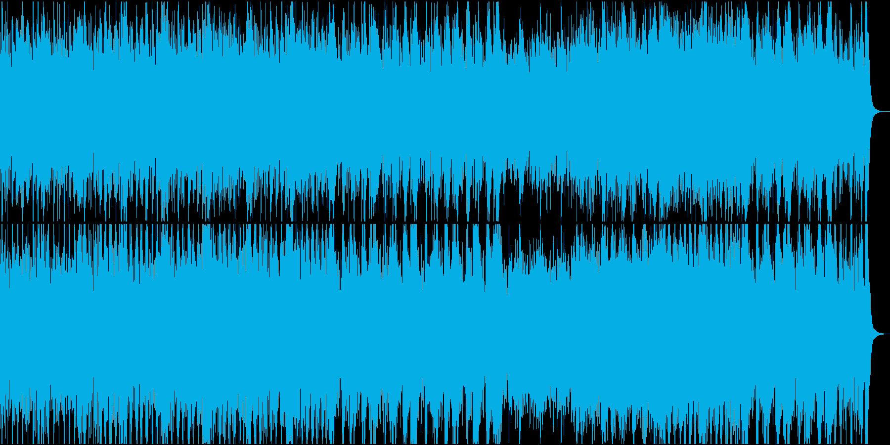 和風オーケストラ日本の祭①全楽器入りの再生済みの波形