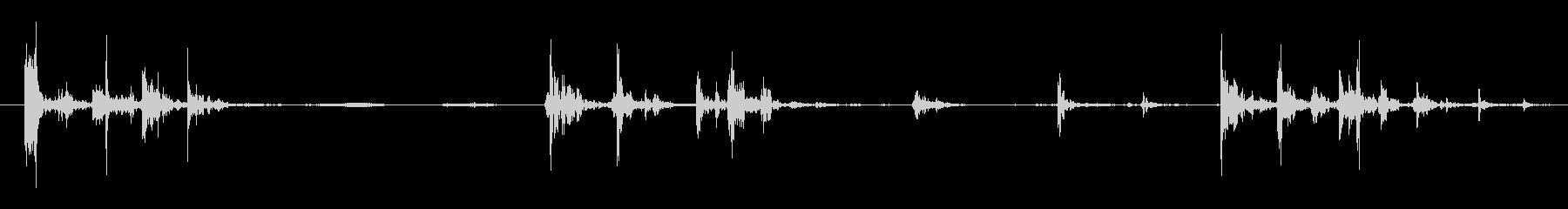 キャリッジ ハッチシーケンス02の未再生の波形