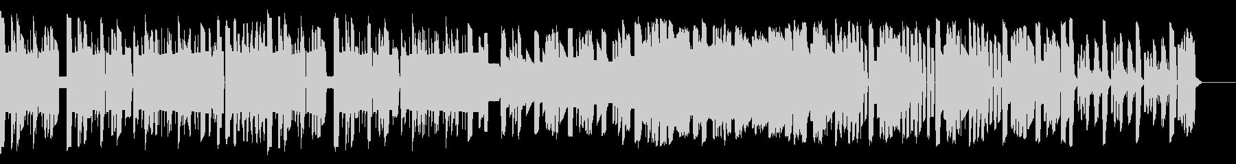 ファミコン音源による冒険感のある曲の未再生の波形