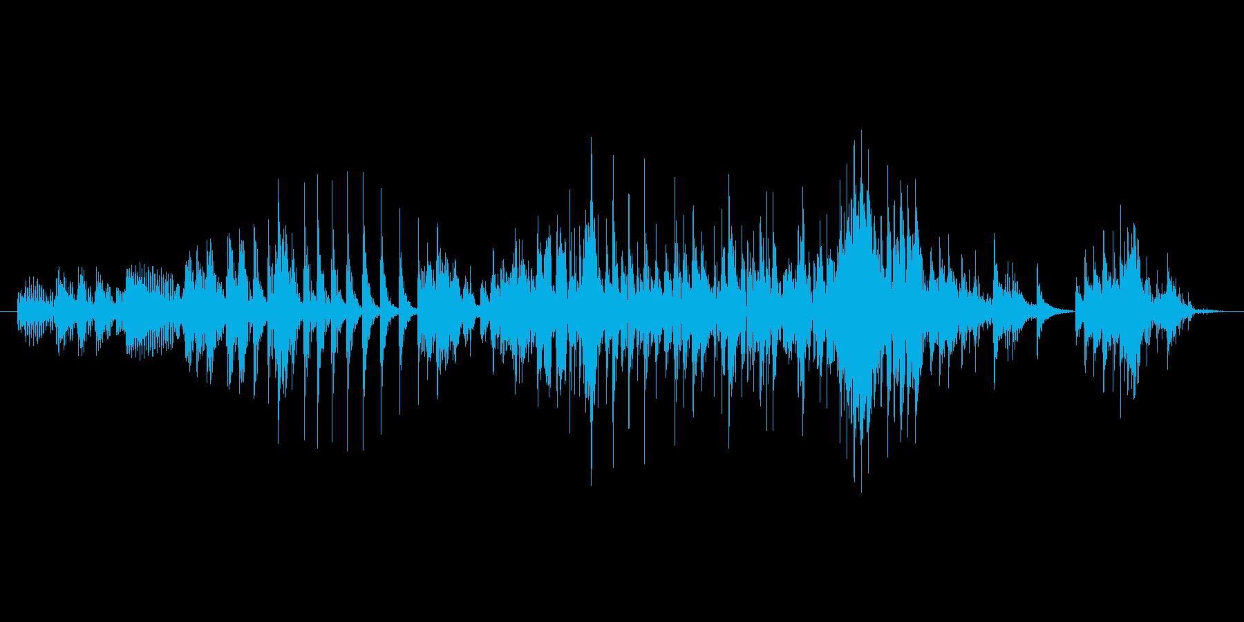 魔物、ゾンビ「うわー」3の再生済みの波形
