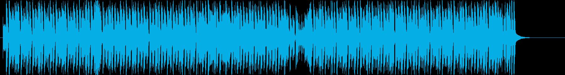 オープニングにぴったり疾走感あるEDMの再生済みの波形