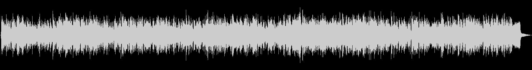 陽気なカントリーBGMの未再生の波形