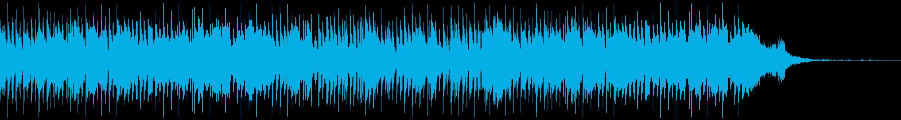 おしゃれなCM映像・高級感・ジャズの再生済みの波形
