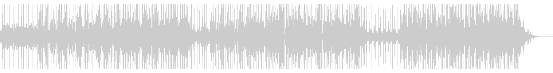 切ない歌謡曲系シティポップインストの未再生の波形