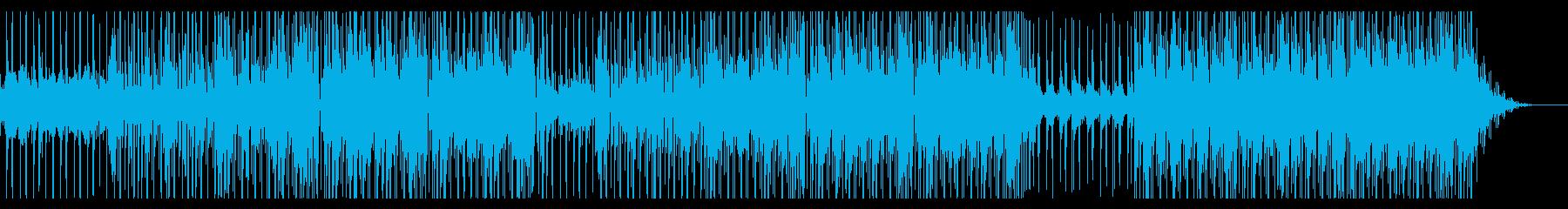 切ない歌謡曲系シティポップインストの再生済みの波形