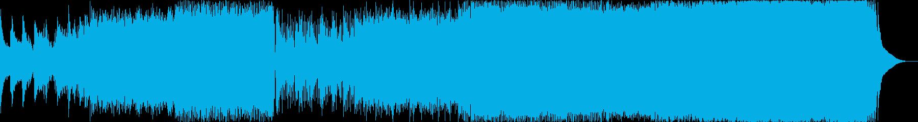 "It is a karaoke of ""The original sin"".'s reproduced waveform"