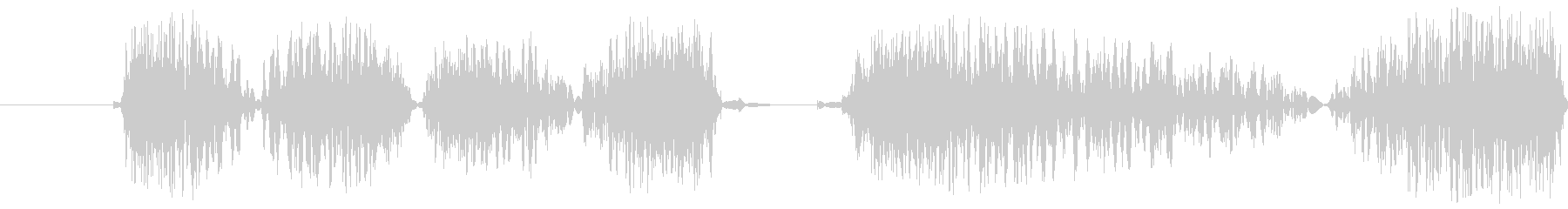Dj Flutter Scratc...の未再生の波形