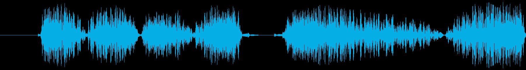 Dj Flutter Scratc...の再生済みの波形