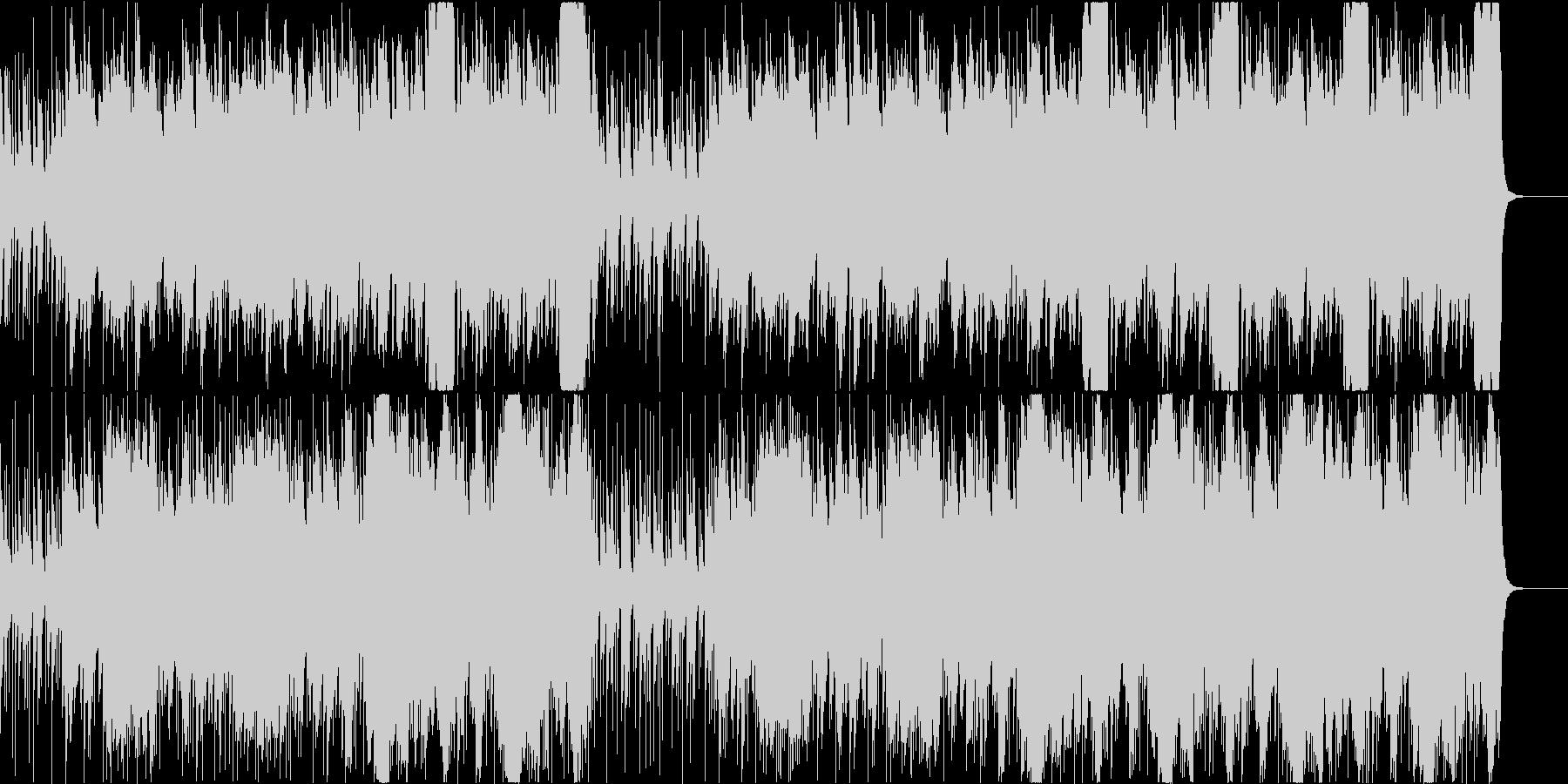チェロとコントラバス+バイオリンのBGMの未再生の波形