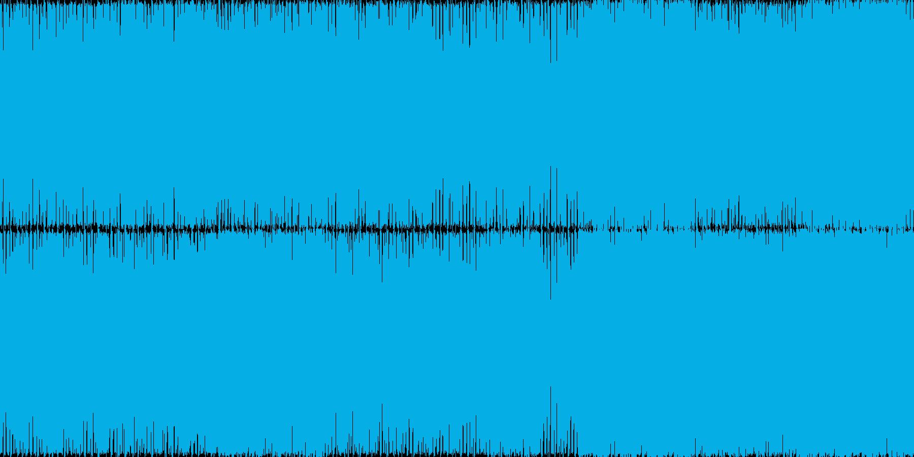 ノリノリのレイブサウンドのイメージです。の再生済みの波形