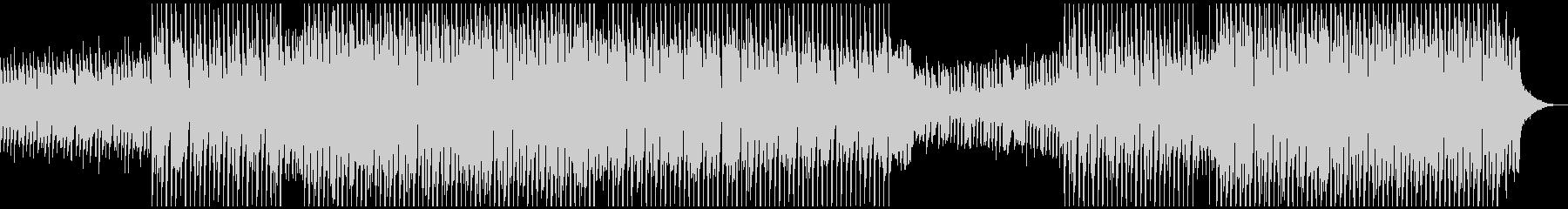 アップビートダンスの未再生の波形