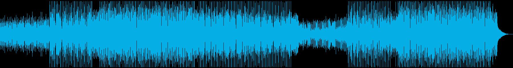 アップビートダンスの再生済みの波形
