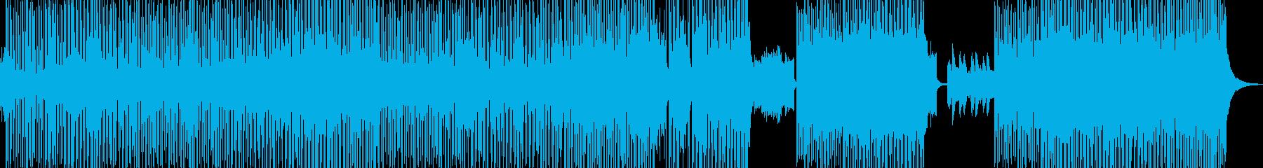 冷めた恋仲をイメージ・目立つピアノ構成の再生済みの波形