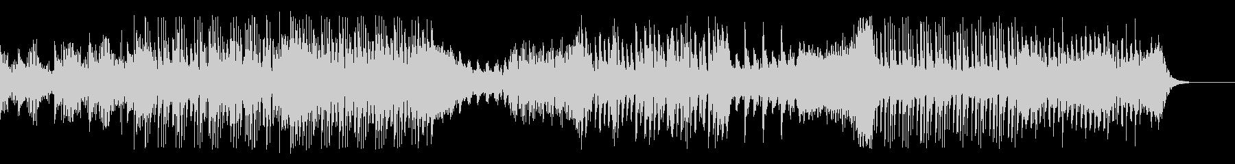 シンセ的ミニマルテクノBGMの未再生の波形