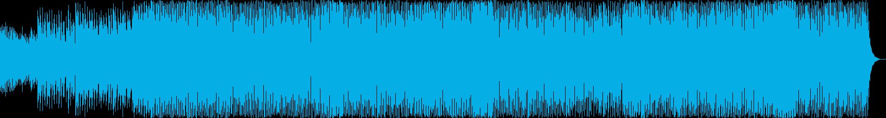テクノ アクション 技術的な 繰り...の再生済みの波形