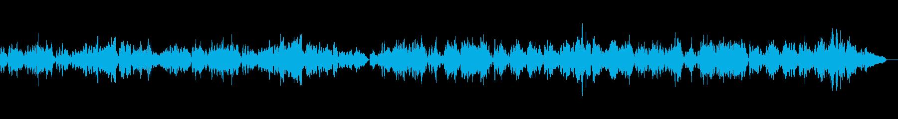 教会に響き渡るバイオリン独奏曲3の再生済みの波形