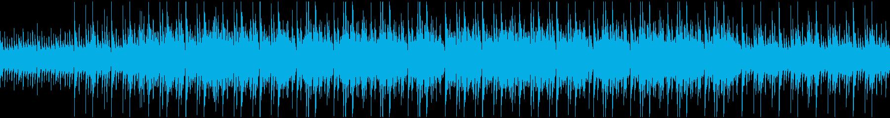 海のシーンなどに。リラックス系音色BGMの再生済みの波形