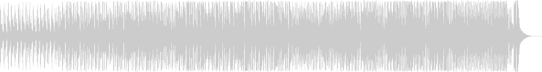 1分間クイズのアスレチックBGMの未再生の波形
