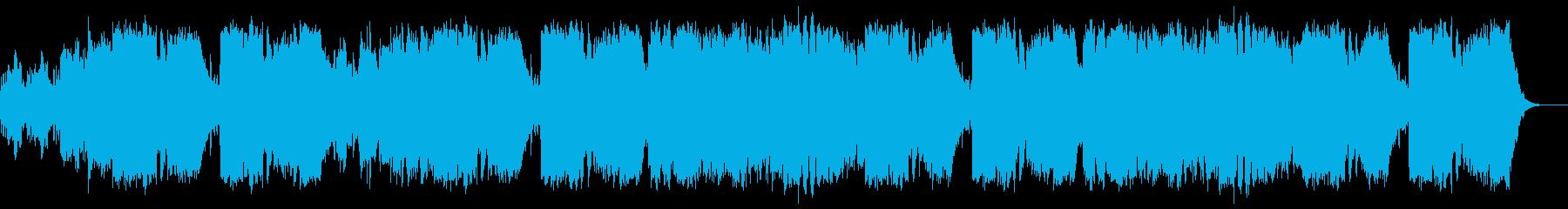 メンデルスゾーン結婚行進曲パイプオルガンの再生済みの波形