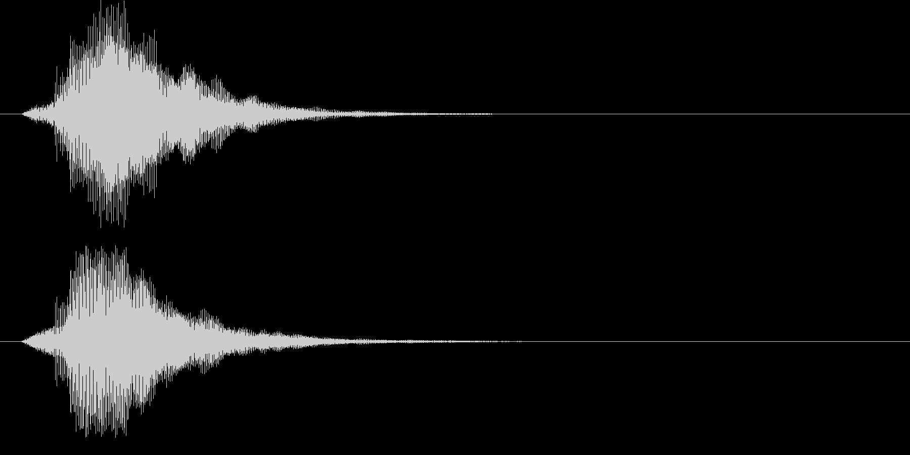 ピ!8bit系の決定/ボタン/クリック4の未再生の波形