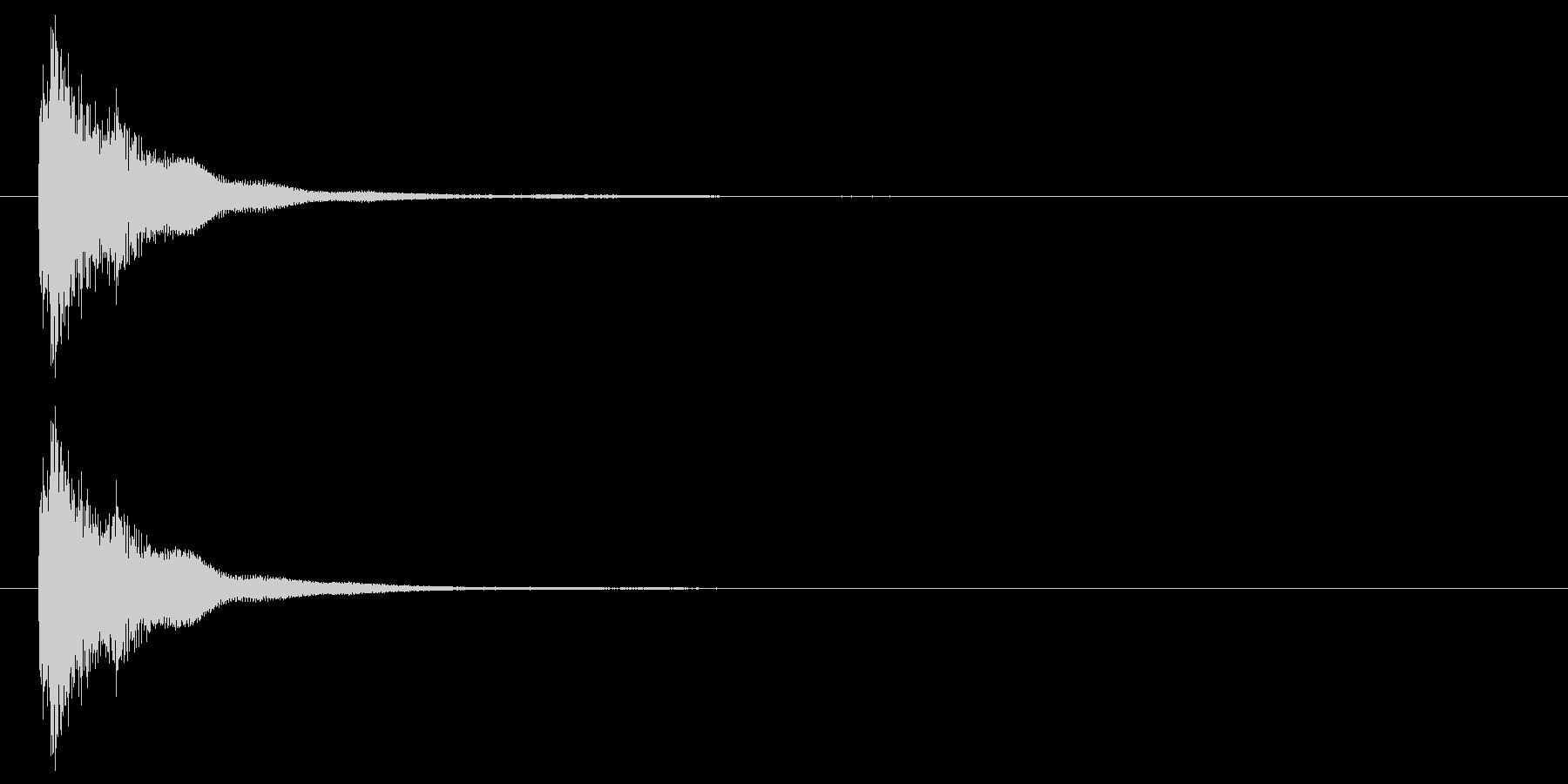 連鎖/パズルゲーム/コンボ/1段階目の未再生の波形