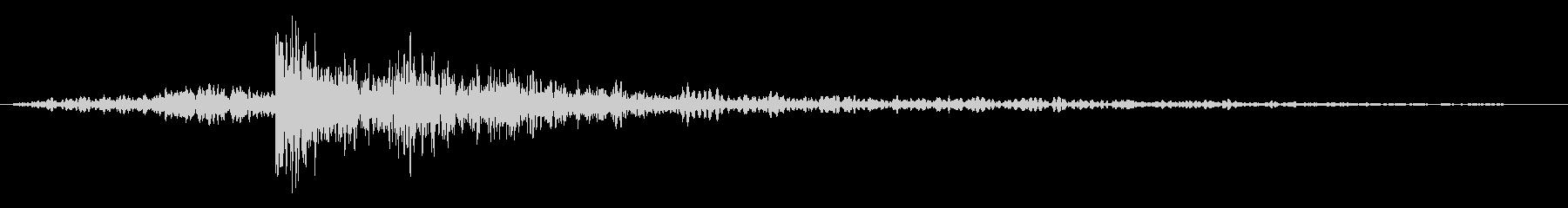 ハードエコーエコーインパクトスイープ1の未再生の波形