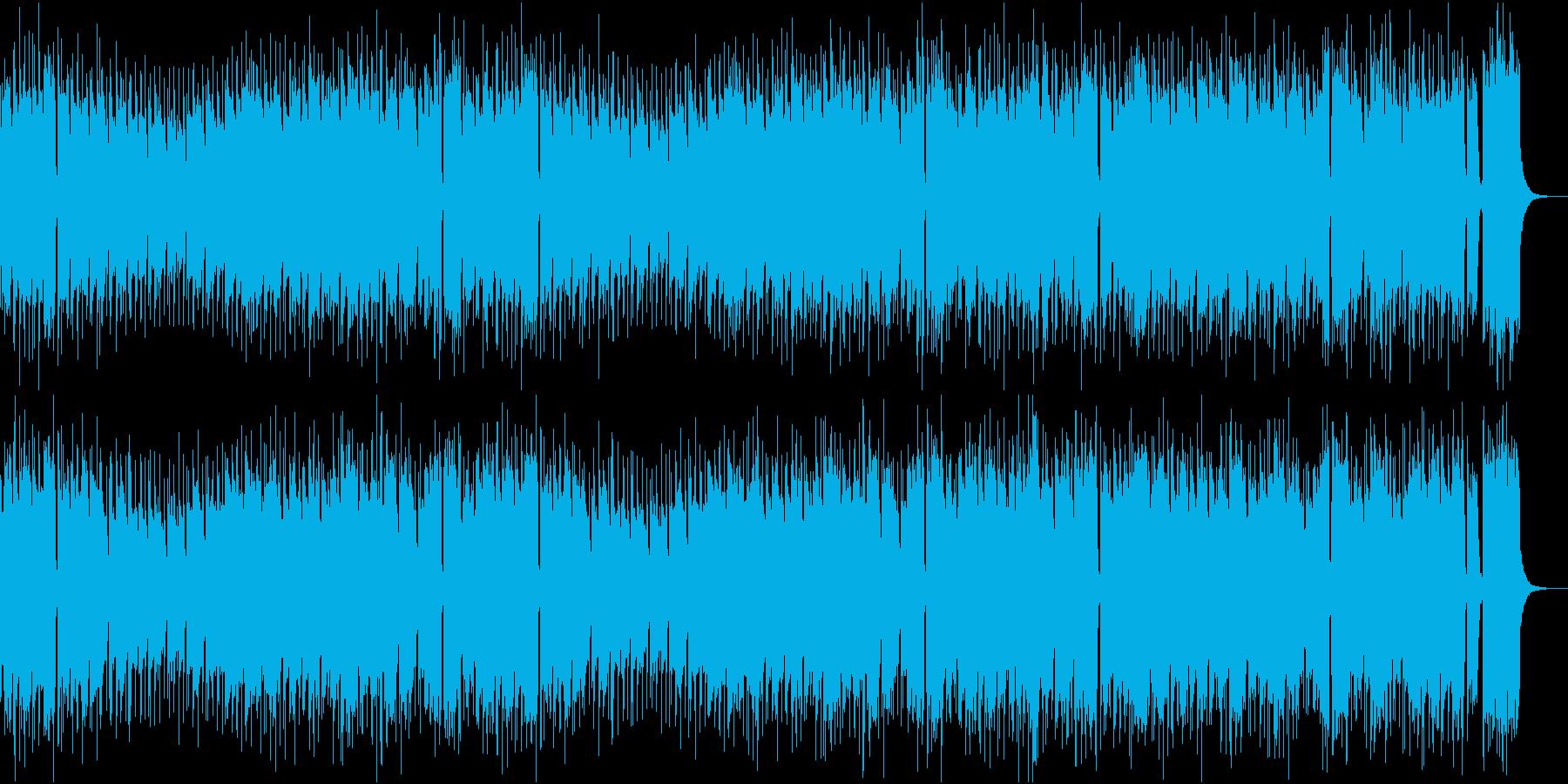 歌謡曲、演歌、定番アレンジの再生済みの波形