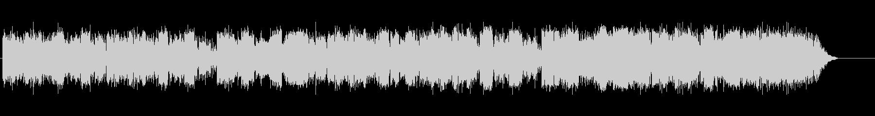 幻想的な北欧フェアリーテイルの曲の未再生の波形