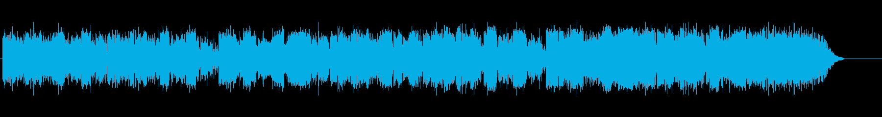幻想的な北欧フェアリーテイルの曲の再生済みの波形