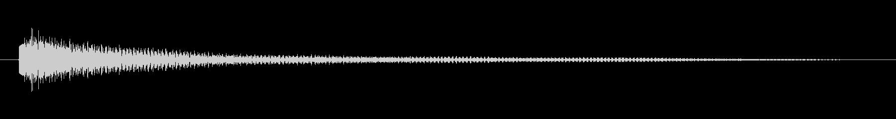 エレキギター(ジャラーン↓マイナー)の未再生の波形