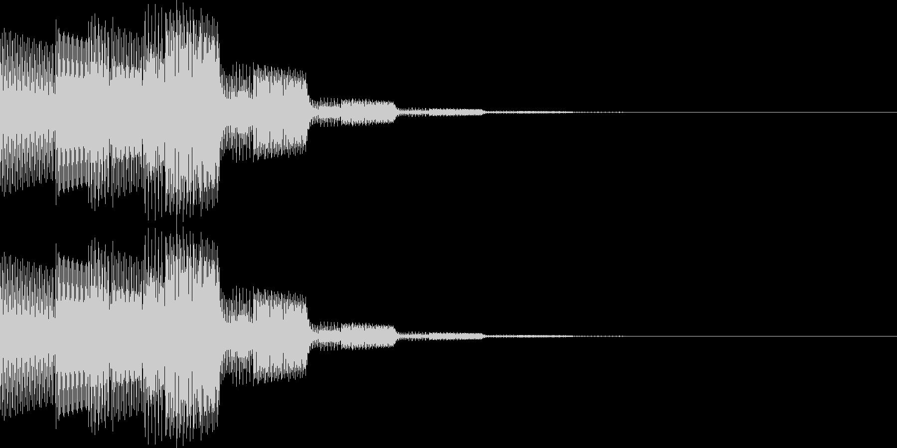 ピロリロン(決定、表示、ヒント)の未再生の波形