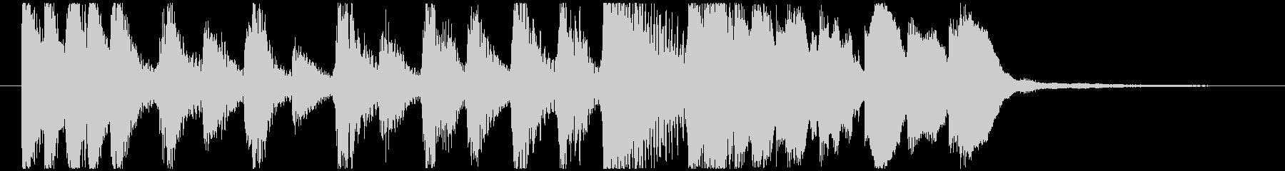 CM コメディードラマ2 オープニングの未再生の波形