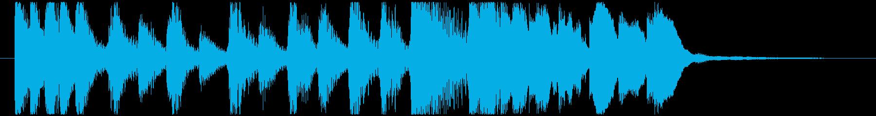 CM コメディードラマ2 オープニングの再生済みの波形