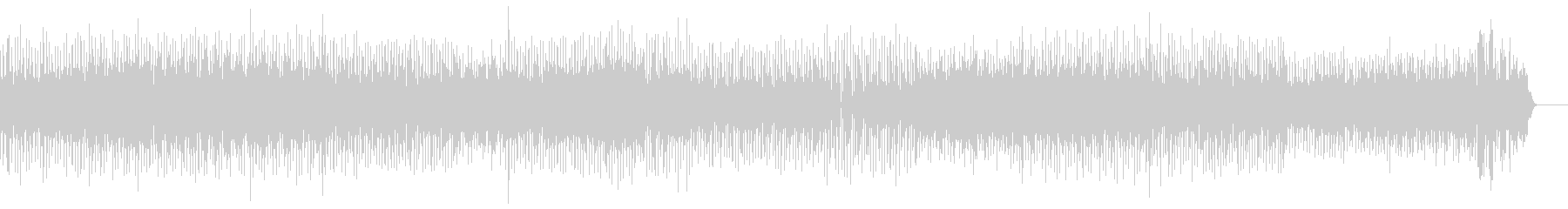 Fashionable and rich melody's unreproduced waveform