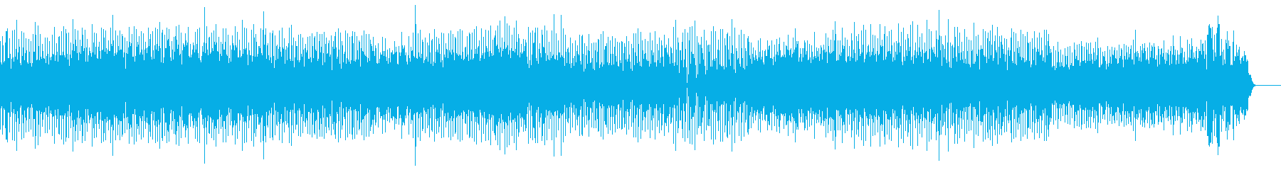 Fashionable and rich melody's reproduced waveform