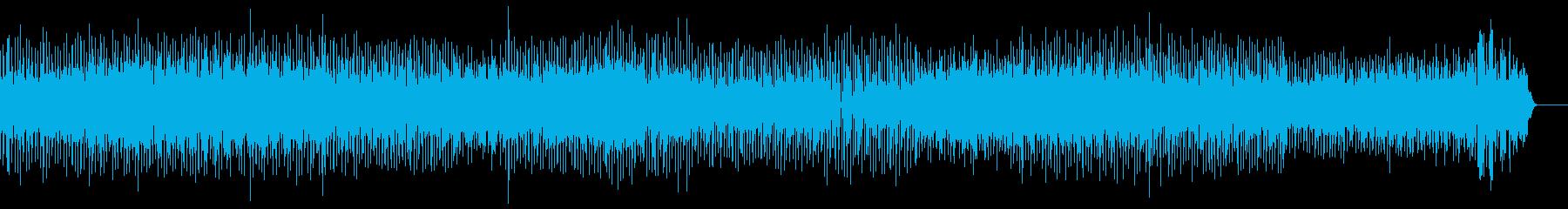 おしゃれでリッチな雰囲気のメロディーの再生済みの波形